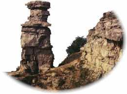 Removal Of Soil And Rock Fragments By Natural Agents